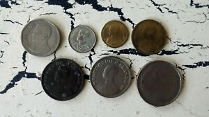 WORLD COINS FROM THAILAND LOT FOREIGN