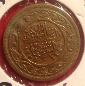 1960 TUNESIA   100 MILLIUM   WORLD FOREIGN COIN   DETAILED   MIDDLE EAST