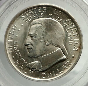 Click now to see the BUY IT NOW Price! 1936 CLEVELAND WORLD'S FAIR COMMEMORATIVE SILVER HALF DOLLAR COIN PCGS MS I76432