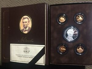 2009 UNITED STATES MINT ABRAHAM LINCOLN COIN & CHRONICLE SET.