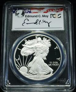 2011 W $1 PROOF SILVER EAGLE PCGS PR70 DC 25TH ANNIV. SET MOY SIGNATURE  POP 8