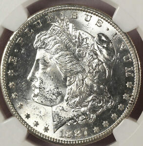 Click now to see the BUY IT NOW Price! 1887 S $1 MS64 NGC VAM 2 BLAST WHITE COLOR MORGAN DOLLAR