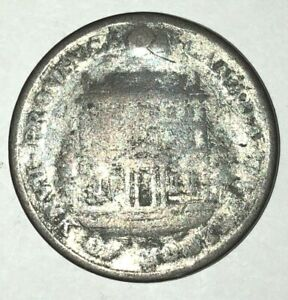 1842   PROVINCE OF CANADA   HALF PENNY TOKEN   AG3 CONDITION