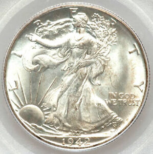 Click now to see the BUY IT NOW Price! 1942 D 50C MS66 PCGS/CAC ONLY 302 IN HIGHER GRADES  WALKING LIBERTY HALF DOLLAR