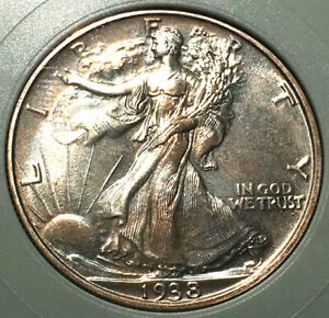 Click now to see the BUY IT NOW Price! 1938 50C  WALKING LIBERTY HALF DOLLAR