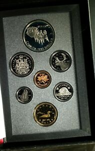1992 CANADA DOUBLE DOLLAR PROOF SET   ORIGINAL CASE & COA   STKA