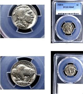 Click now to see the BUY IT NOW Price! 1929 S 5C MS65 PCGS  BUFFALO NICKEL