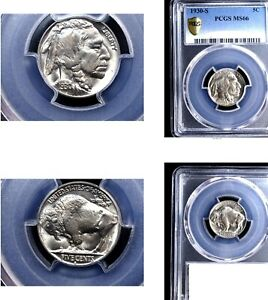 Click now to see the BUY IT NOW Price! 1930 S 5C MS66 PCGS  BUFFALO NICKEL