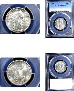 Click now to see the BUY IT NOW Price! 1930 25C MS65FH PCGS WHITE STANDING LIBERTY QUARTER