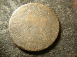 1800 WEAK READABLE DATE  DAPED BUST LARGE CENT NM