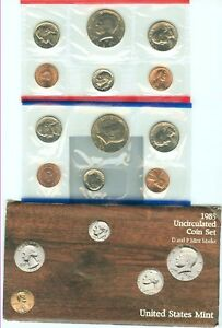 1985  UNITED STATES MINT SET IN ORIGINAL ENVELOPE
