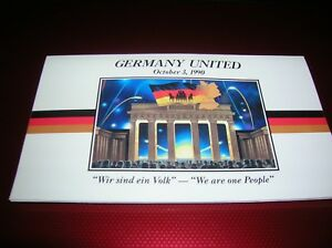 MARSHALL ISLANDS GERMANY UNITED $5 COMMEMORATIVE COIN 1990
