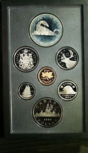 1986 CANADA DOUBLE $$ VANCOUVER PROOF SET  SILVER  ORIGINAL PACKAGE & COA    C