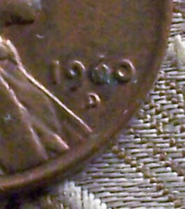 1960 D ERROR COIN   FILLED