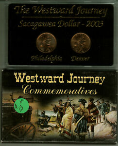 2003 WESTWARD JOURNEY NATIVE AMERICAN DOLLAR MINT SET