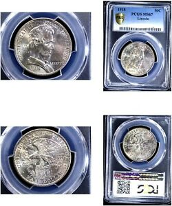 Click now to see the BUY IT NOW Price! 1918 50C LINCOLN MS67 PCGS SILVER COMMEMORATIVE