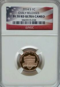 Click now to see the BUY IT NOW Price! 2014 S PROOF LINCOLN SHIELD CENT OR PENNY   NGC PF70UCAM PERFECT