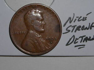 WHEAT PENNY 1935D NICE HIGH GRADE XF DETAILS 1935 D LINCOLN CENT