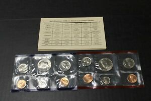 1988 P&D MINT SET BRILLIANT UNCIRCULATED US COINS