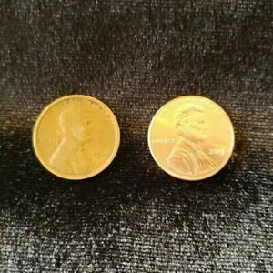 1919 WHEAT PENNY CIRCULATED   2019 UNCIRCULATED PENNY