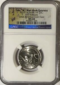 Click now to see the BUY IT NOW Price! 2019 W NGC MS68 FIRST RELEASES GUAM QUARTER AMERICAN COIN HUNT WAR IN PACIFIC