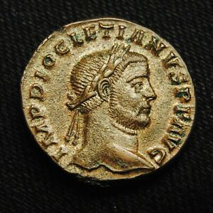 Click now to see the BUY IT NOW Price! BILLON FOLLIS EMPEROR DIOCLETIAN RV GENIO POPVLI ROMANI 10.28 GRAMS 24 5MM TRIER