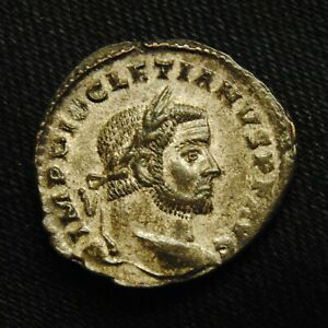 Click now to see the BUY IT NOW Price! BILLON FOLLIS EMPEROR DIOCLETIAN RV GENIO POPVLI ROMANI 9.04 GRAMS 25 6MM TRIER