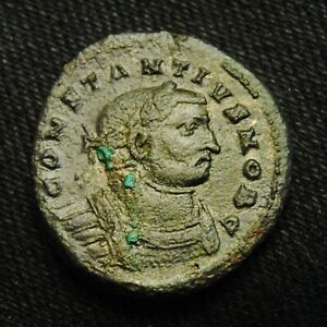 Click now to see the BUY IT NOW Price! FOLLIS CONSTANTIUS I RV GENIO POPVLI ROMANI 9.62 GRAMS 25 7MM LONDON AD 300 03