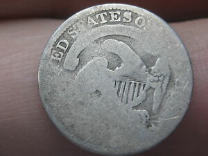 1834 CAPPED BUST HALF DIME  OLD TYPE COIN