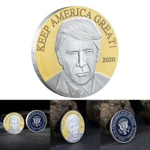 DOUBLE COLORS 2020 TRUMP AMERICAN EAGLE COMMEMORATIVE COIN AA00