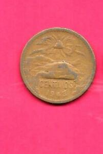 MEXICO MEXICAN KM439 1943 FINE NICE LARGE OLD WWII 20 CENTAVOS COIN