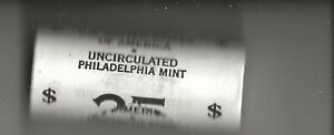 ONE 25 COIN ROLL OF UNCIRCULATED 2005 BISON NICKELS  PHILADELPHIA