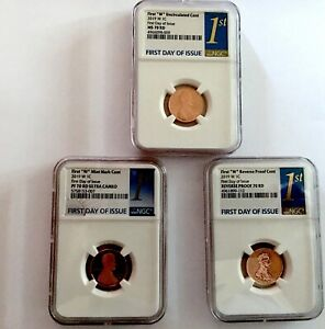 Click now to see the BUY IT NOW Price! 2019 W 1 CENT  LINCOLN PENNYS NGC  MS 70 &  PR 70S  FDOI    BEST OF THE BEST