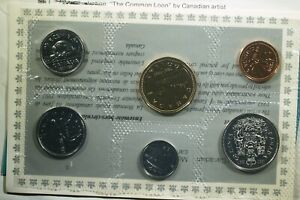 1992 CANADA UNCIRCULATED COIN SET   MINT SET   ORIGINAL ENVELOPE & COA