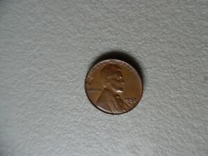 UNITED STATES PENNY     1957 D  CUD BY 5  CRACKS BY DATE      ERROR COIN NB