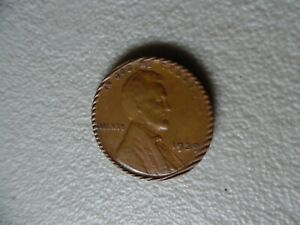 UNITED STATES PENNY     1939   CORRUGATED RIM  ERROR COIN NB