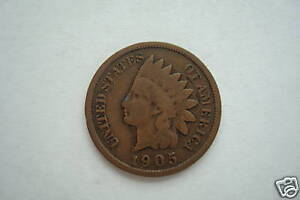 INDIANHEAD ONE CENT 1893 1907 GOOD CONDITION LIMIT ONE RANDOM DATE