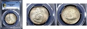 Click now to see the BUY IT NOW Price! 1921 50C PILGRIM MS67 PCGS SILVER COMMEMORATIVE