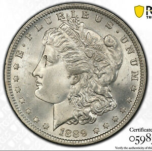 Click now to see the BUY IT NOW Price! 1889 O DBL DATE $1 PCGS MS 65 VAM 6   POP TOP MORGAN DOLLAR TOP 100 VARIETY