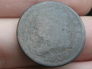 1809 CAPPED BUST HALF CENT  METAL DETECTOR FIND?