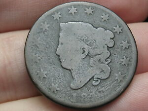 1816 1819 MATRON HEAD LARGE CENT PENNY