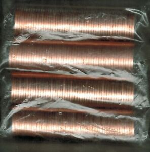 2003   F0UR ROLLS OF UNCIRCULATED ONE CENT COINS COMPLETE SERIES ALL DIFFERENT
