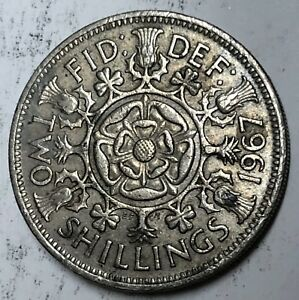 C258     GREAT BRITAIN     COIN     FLORIN    1967