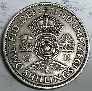 C262     GREAT BRITAIN     COIN     FLORIN    1947