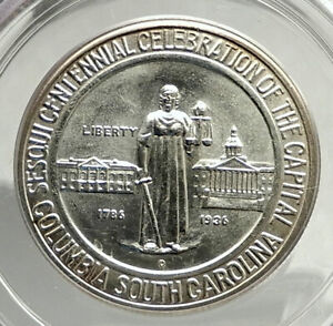 Click now to see the BUY IT NOW Price! 1936 COLUMBIA SOUTH CAROLINA SILVER COMMEMORATIVE HALF DOLLAR COIN PCGS I76433