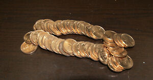 Click now to see the BUY IT NOW Price! ROLL OF 50 UNCIRCULATED 1939 D LINCOLN CENTS