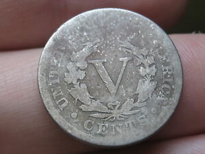 1895 LIBERTY HEAD V NICKEL 5 CENT PIECE