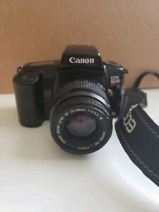 CANON EOS REBEL S II SLR CAMERA VINTAGE WITH EF 35 80MM F/4 5.6 II LENS.