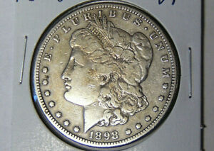 1898 S MORGAN SILVER DOLLAR VF SAN FRANCISCO MINT  111819