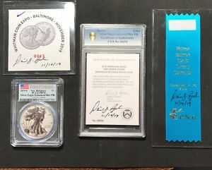 Click now to see the BUY IT NOW Price! 2019 S SILVER EAGLE ENHANCED REVERSE PROOF PCGS PR70 BALTIMORE COIN 13 SIGNED